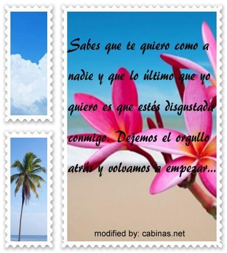 Mensajes Para Reconciliarme Con Mi Novia Con Imagenes Cabinas Net