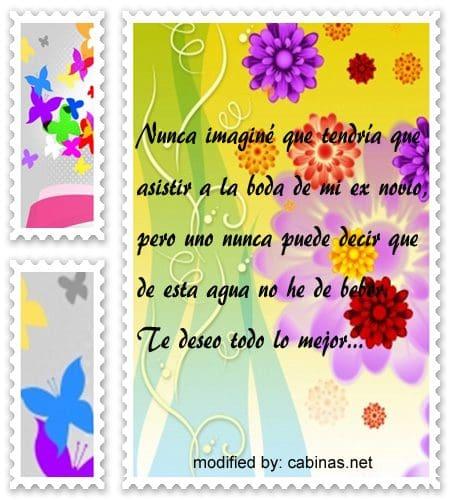 Mensajes Lindos Para La Boda De Mi Ex Novio Con Imagenes Cabinas Net