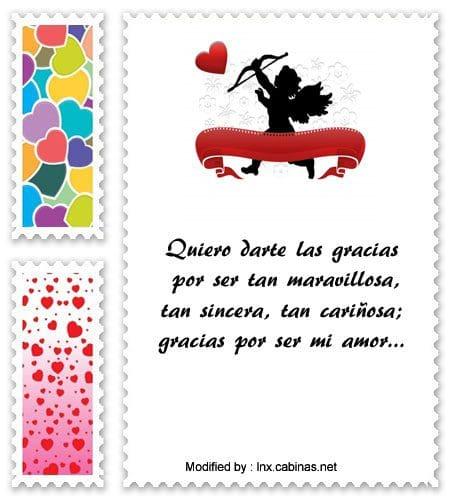 Bellos Mensajes De Agradecimiento Para Mi Amor Frases De Amor