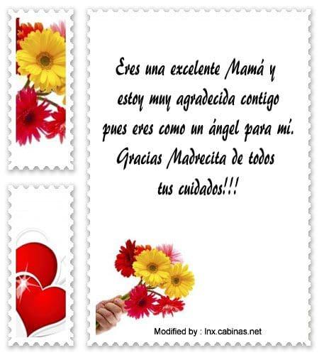 Mensajes De Agradecimiento Para Mi Mamá Frases De