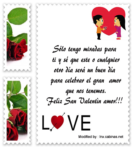 Mensajes De San Valentin Para Mi Amor Frases De Amor Cabinas Net