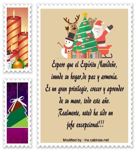Mensajes de navidad para mi jefe saludos de navidad - Mensajes navidenos para empresas ...
