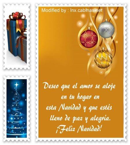 tarjetas con mensajes bonitos de felìz Navidad, bajar mensajes de Navidad gratis