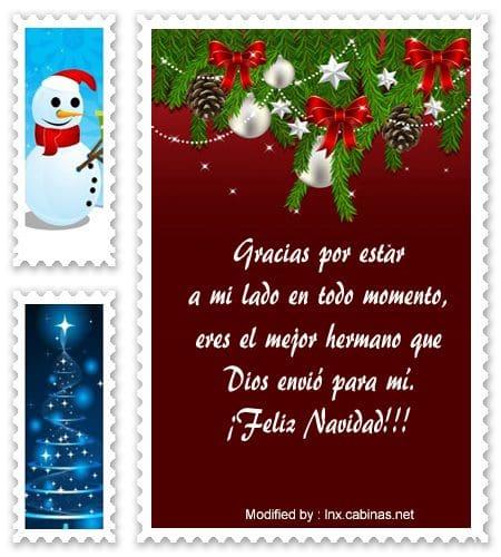Mensajes De Navidad Para Mi Hermano Saludos De Navidad