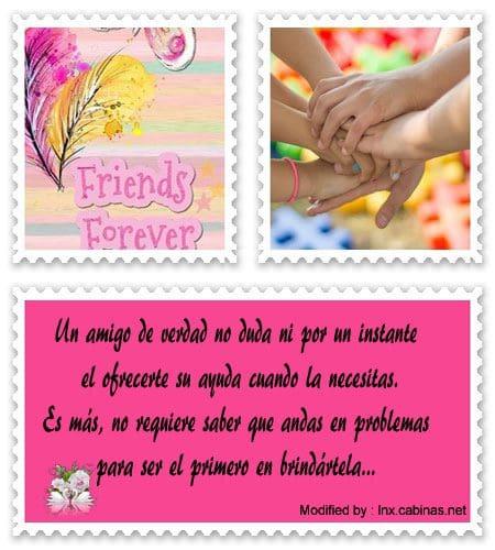 Mensajes De Amistad Para Mis Mejores Amigos Frases De
