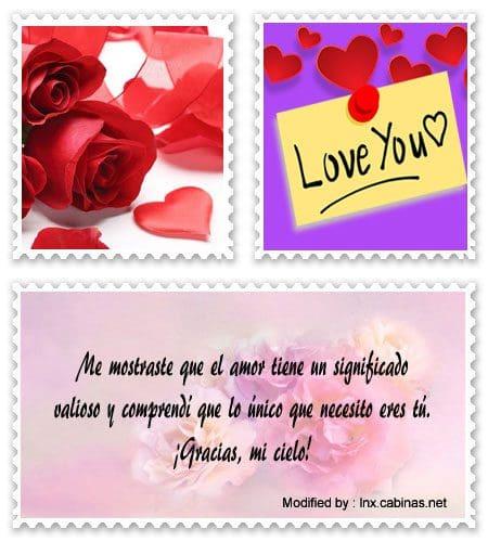 Frases De Gracias Por Tu Amor Para Novios Frases Románticas