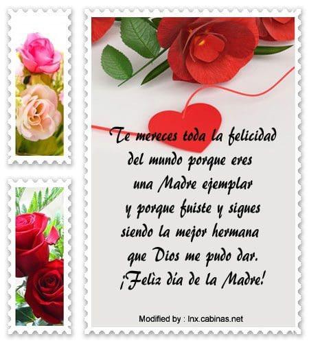 Mensajes Por El Día De La Madre Para Tu Hermana Frases Por