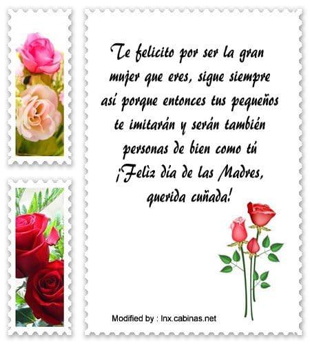 Bonitos Saludos Por El Día De La Madre Para Mi Cuñada