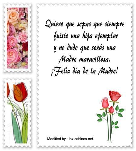 Frases Bonitas Por El Día De La Madre Para Mi Hija Mensajes Por El