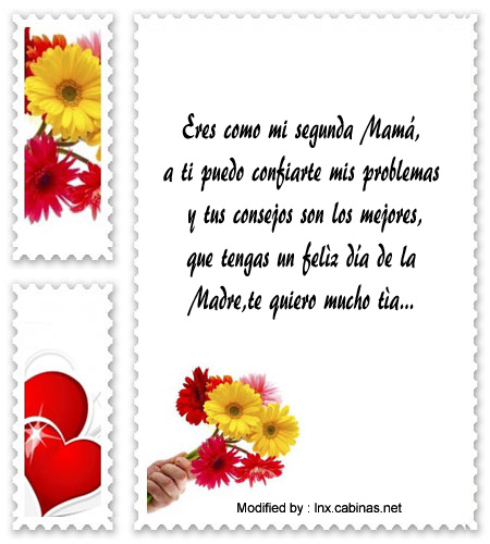 Frases Bonitas Por Dia De La Madre A Mi Tia Mensajes Por Dia De La Madre Cabinas Net