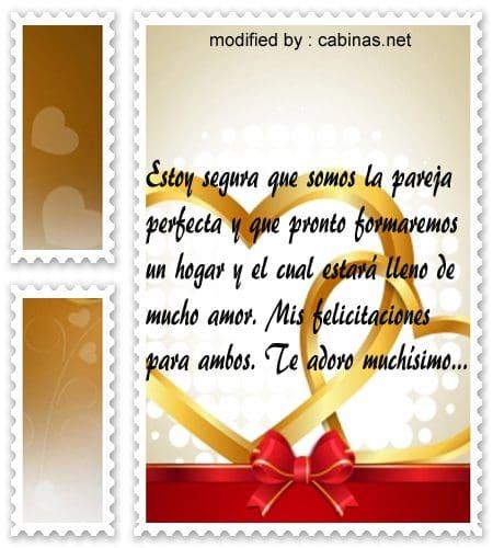 Top frases rom nticas por primer mes de novios con for Regalos de aniversario de bodas para amigos
