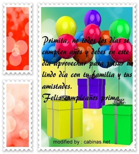 Bellas Frases De Cumpleaños Para Mi Prima Con Imágenes