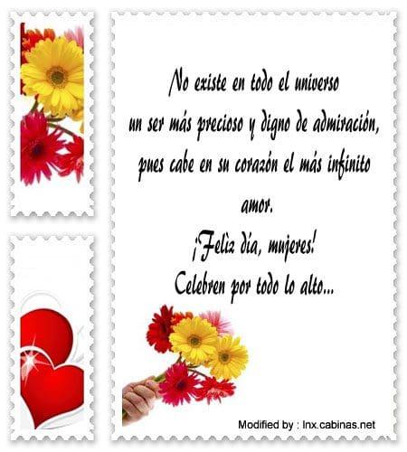 Frases Para El Dia De La Mujer 8 De Marzo
