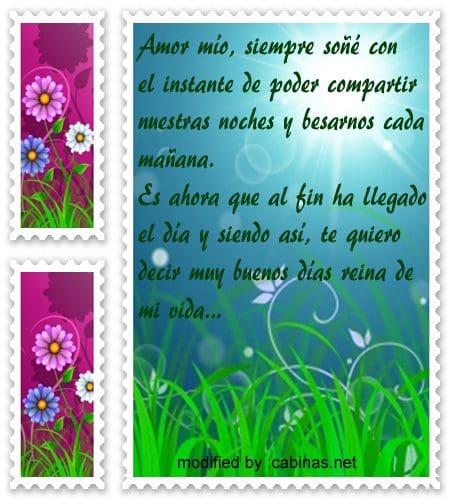 Frases De Buenos Dias Para Mi Amor Cabinasnet