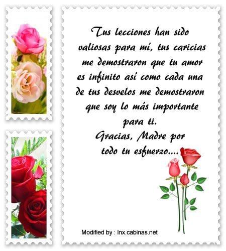 Gracias Madre Poemas bellas palabras de reconocimiento para mi madre | mensajes de