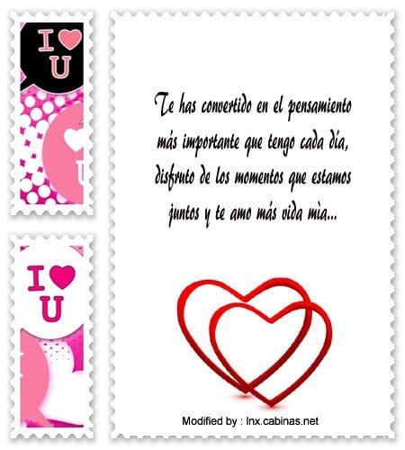 Bellos Mensajes Para Mi Amor Frases Romanticas Cabinas Net