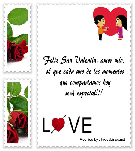 Palabras De San Valentín Para Mi Enamorado Frases De Amor