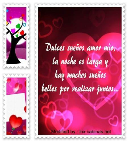 textos de buenas noches para mi amor,dedicatorias de buenas noches para mi amor
