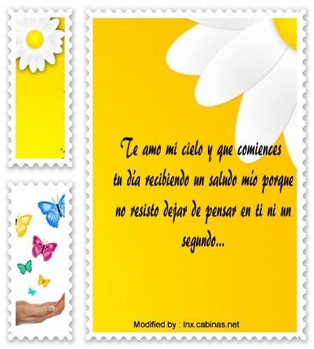 Frases Bonitas Para Desear Buen Dia A Tu Pareja Mensajes De Buenos