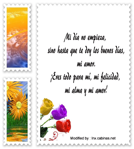 descargar poemas de buenos dias para mi amor,mensajes bonitos de buenos dias para mi amor,