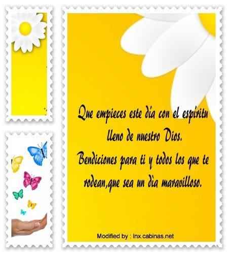 Bonitos Mensajes De Buenos Dias Cristianos Frases De