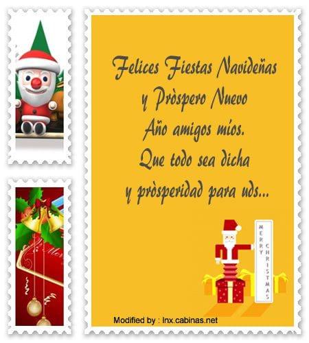 Mensajes de feliz navidad y pr spero a o nuevo con - Mensajes bonitos de navidad y ano nuevo ...