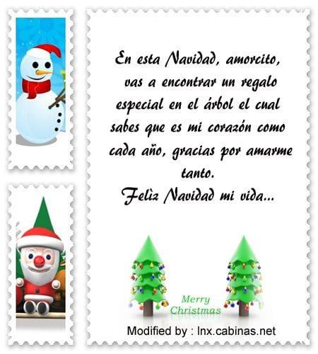 frases con imàgenes para enviar en Navidad a mi esposo, palabras para enviar en Navidad a mi esposo