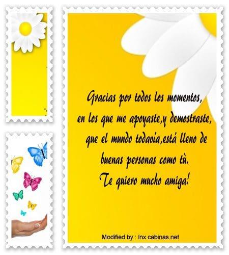 Frases Lindas Para Amigas Importantes Mensajes De Amistad Cabinas Net