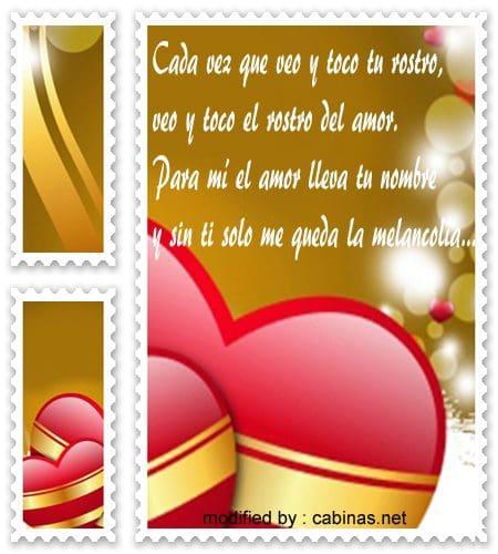 enviar tarjetas bonitas con saludos de amor para novios gratis,postales con pensamientos originales de amor para mi enamorado