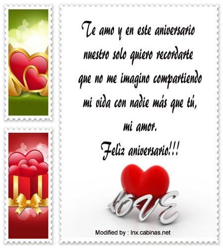 saludos por el aniversario de matrimonio para mi amor, sms por el aniversario de matrimonio para descargar