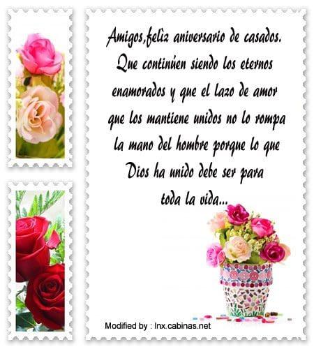 Eccezionale Bellas felicitaciones por aniversario de bodas | Saludos por  RT78