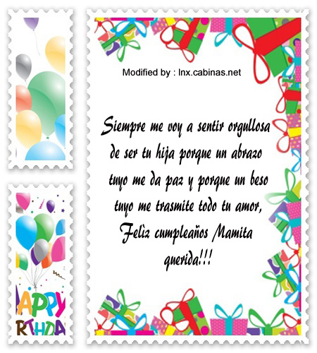 enviar sms de cumpleaños para mi Mamà,bonitos textos de feliz cumpleaños para mi Mamà