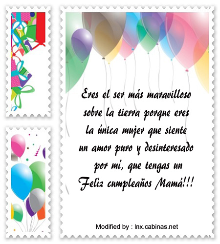 Los Mejores Mensajes De Cumpleaños Para Mi Mamà Frases De