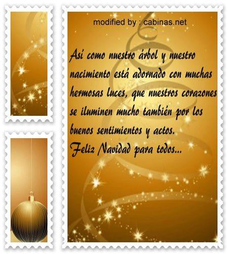 Bellas frases para enviar saludos de feliz navidad y - Mensajes bonitos de navidad y ano nuevo ...