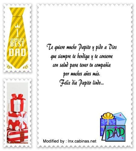 saludos para el dia del Padre,sms para el dia del Padre