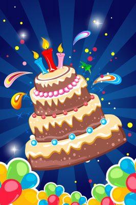 Tarjetas animadas de Feliz Aniversario para enviar y