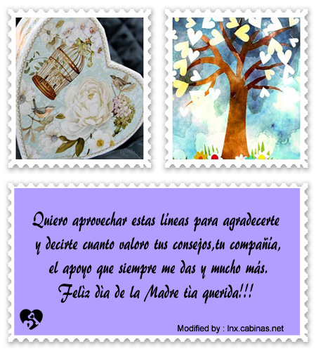 Cartas A Mi Tia Por Dia De La Madre Frases Bonitas Para Mi Tia