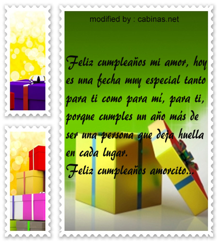 Gratis Frases De Cumpleaños Para Mi Amorcito Con Imágenes