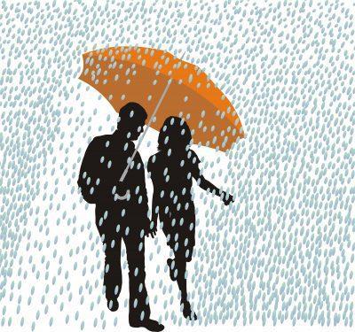 Frases De Amor Para Dedicarle A Tu Pareja Bajo La Lluvia