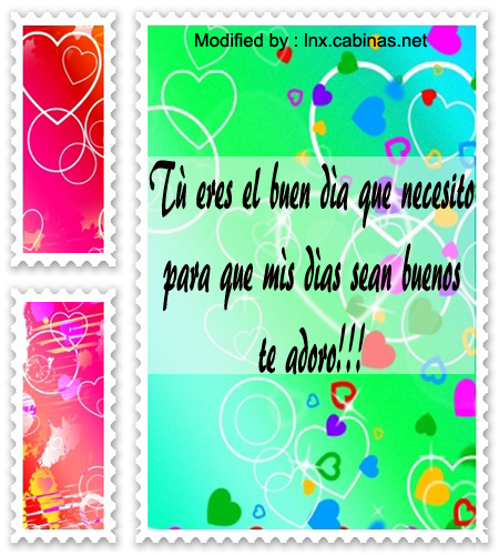 Especiales Frases De Buenos Dias Para Mi Amor Cabinas Net