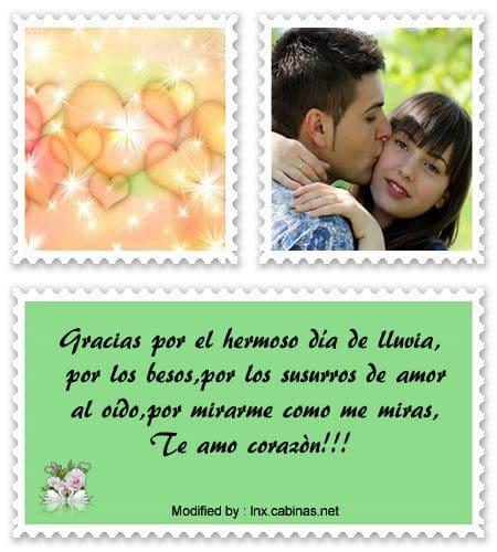 Frases De Amor Para Dedicarle A Tu Pareja Bajo La Lluvia Cabinas Net