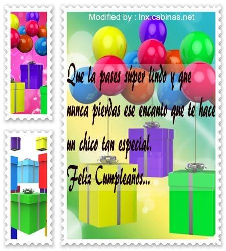 Mensajes De Cumpleaños Para La Chica Que Te Gusta | Frases