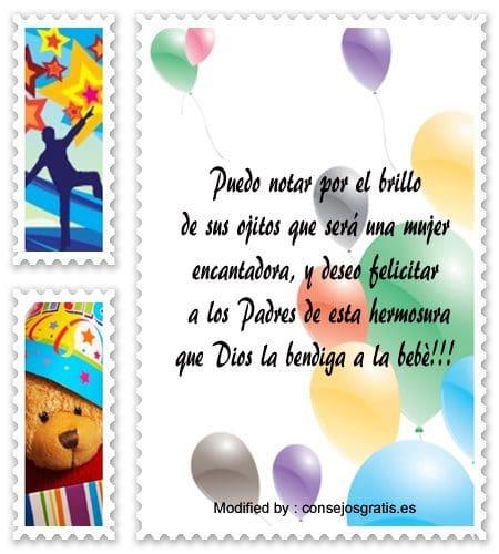 Bellas Frases Por El Nacimiento De Una Nina Felicitaciones