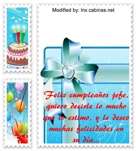 muy bonitas frases de cumpleaños para tu jefe con imágenes cabinas net