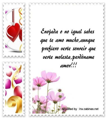 Mensajes De Amor Para Pedir Perdòn   Frases de disculpas
