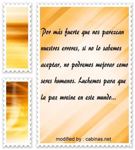Bellos Mensajes Sobre La Paz Y El Amor Con Imagenes Cabinas Net