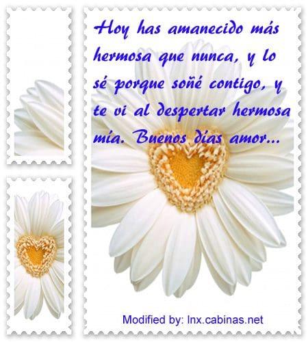 Palabras Para Mi Amor De Buenos Dias Con Imagenes Cabinas Net