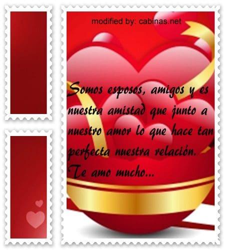 Buscar lindas frases de amor para mi esposo con imágenes