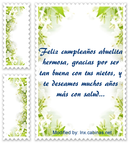 Especiales Frases De Cumpleaños Para Mi Abuelita Con Imágenes