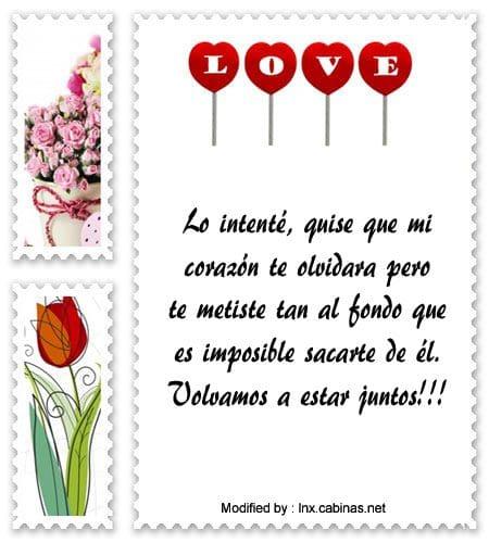 Lindos Mensajes Para Regresar Con Mi Ex Frases De Amor Cabinas Net